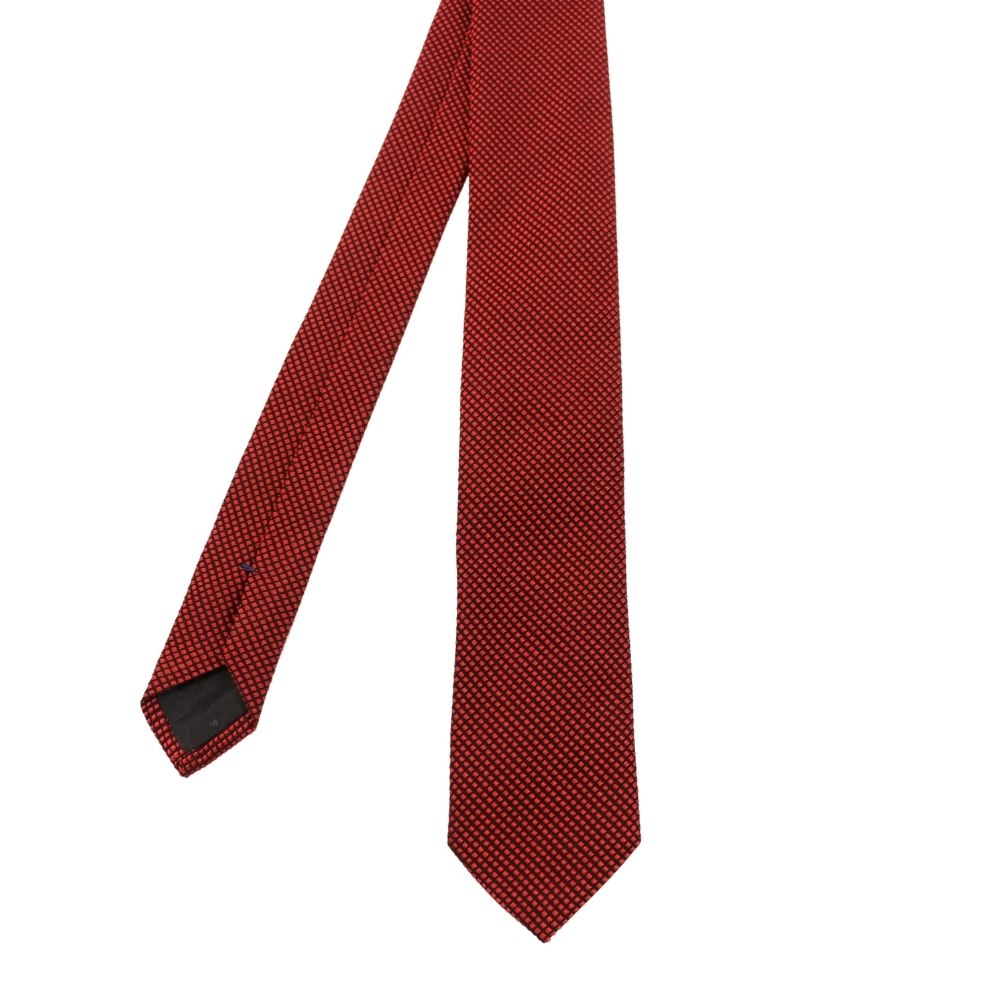 Boss Tie Red Diamonds 2