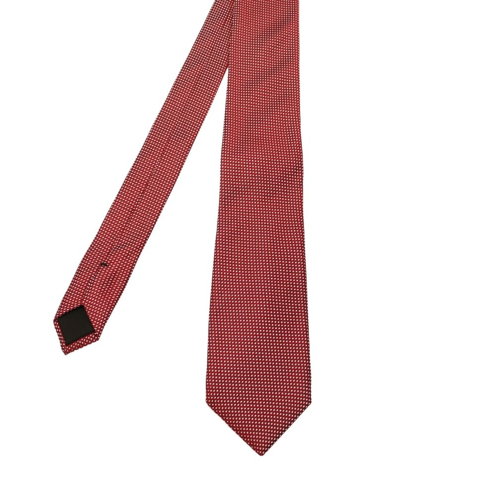 Boss Tie stitch Knit Red 2