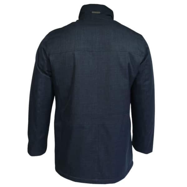 Bugatti jacket rainproof navy back