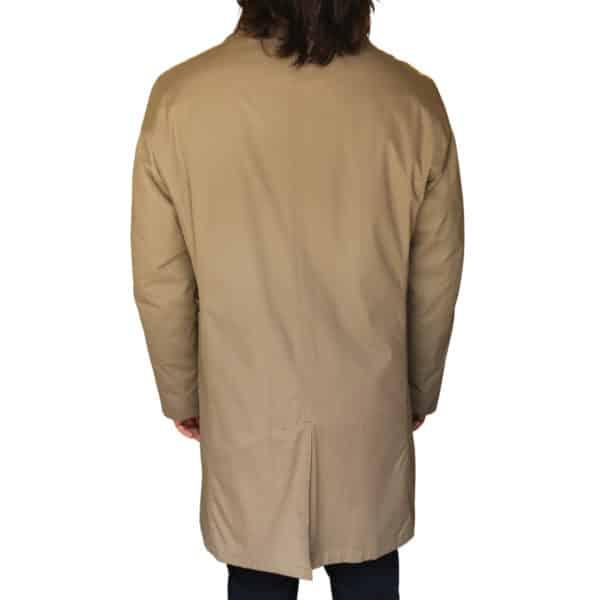 Bugatti taupe raincoat back2