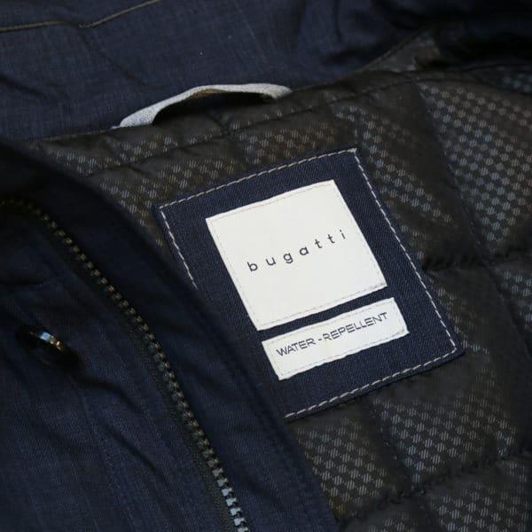 Bugatti water repellent jacket logo