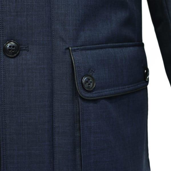 Bugatti water repellent jacket outside pocket