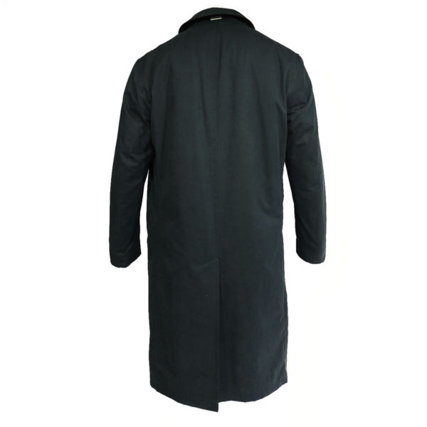 Bugatti waterproof coat navy back