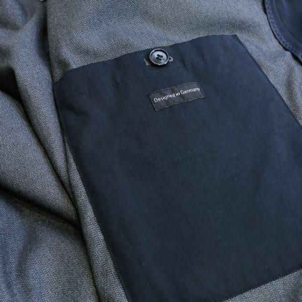 Bugatti waterproof coat navy inner pocket