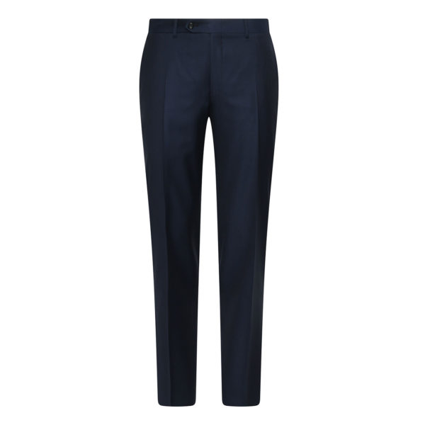 CANALI FORMAL WOOL TROUSERS IN NAVY front1
