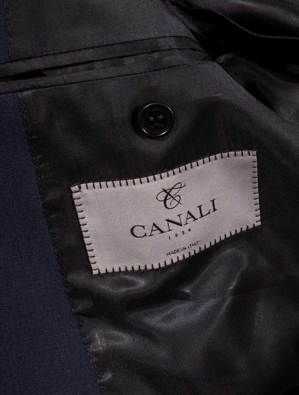 CANALI NAVY IMPECCABLE LABEL 1