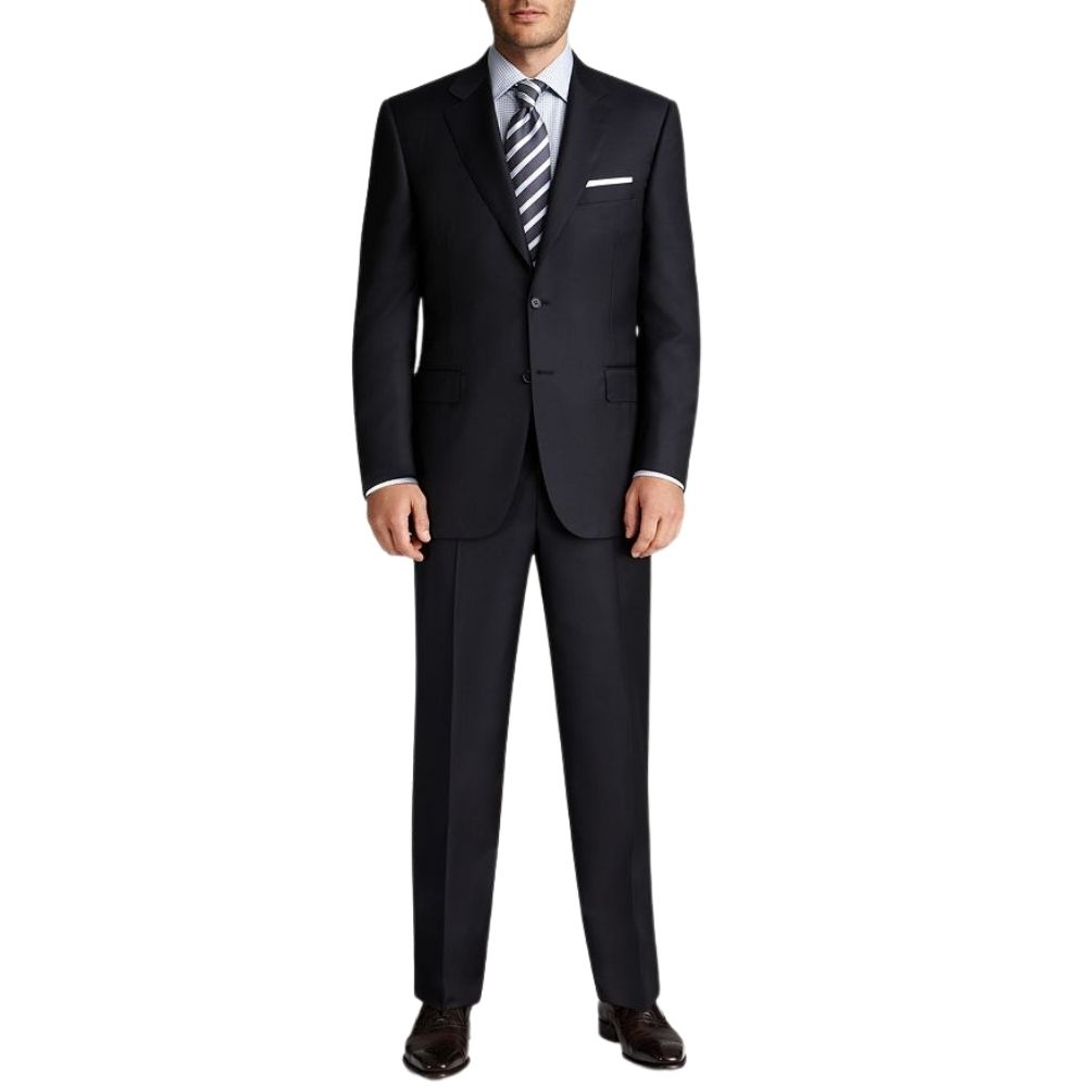 CANALI NAVY MID WIEGHT SUIT