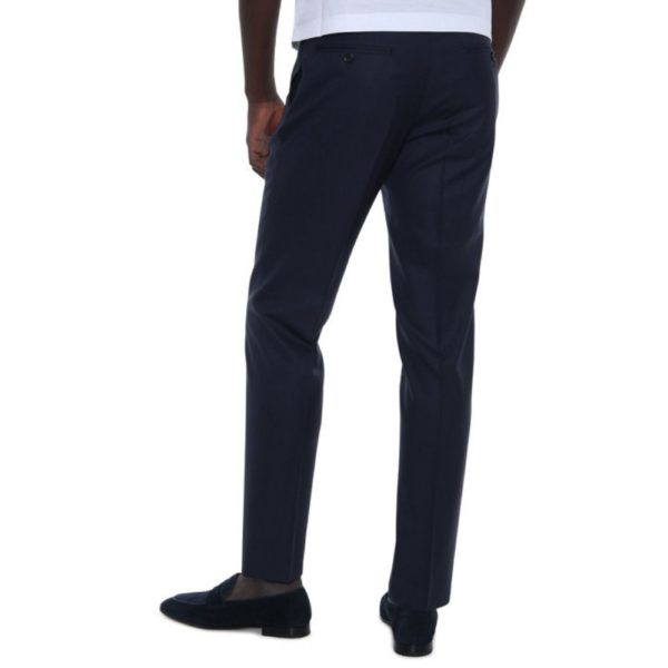 CANALI NAVY WOOL TROUSE 2