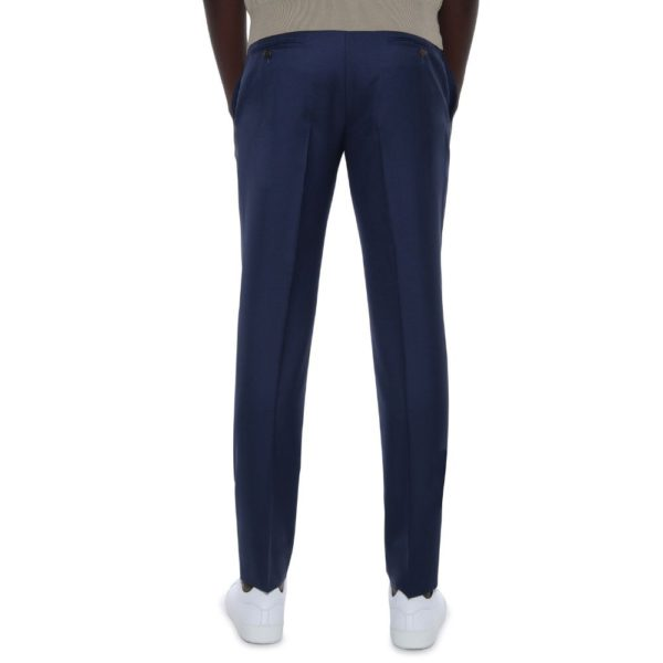 CANALI NAVY WOOL TROUSE 6