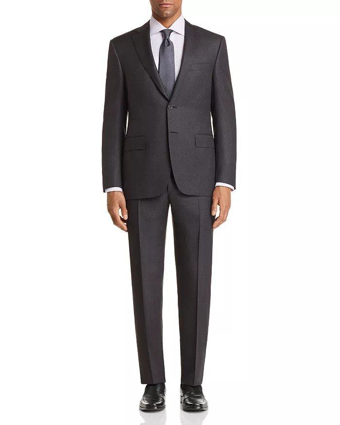 CANALI SUIT CHARCOAL 1