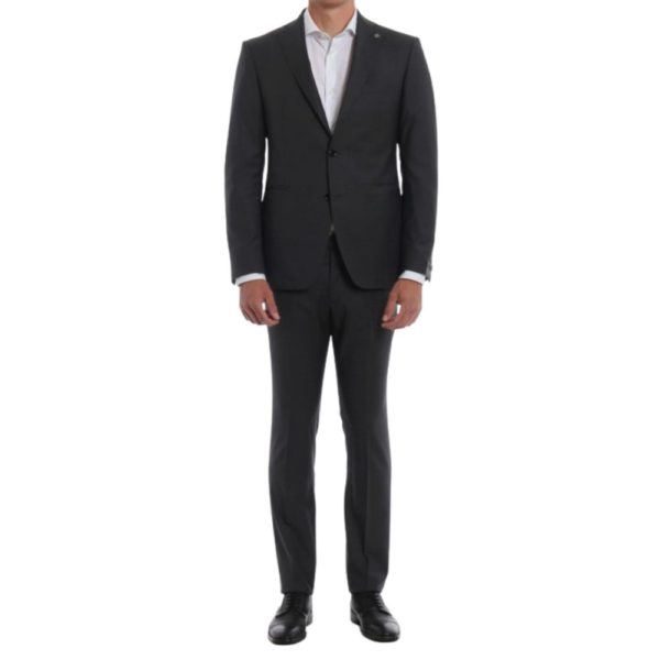 CANALI SUIT CHARCOAL 10
