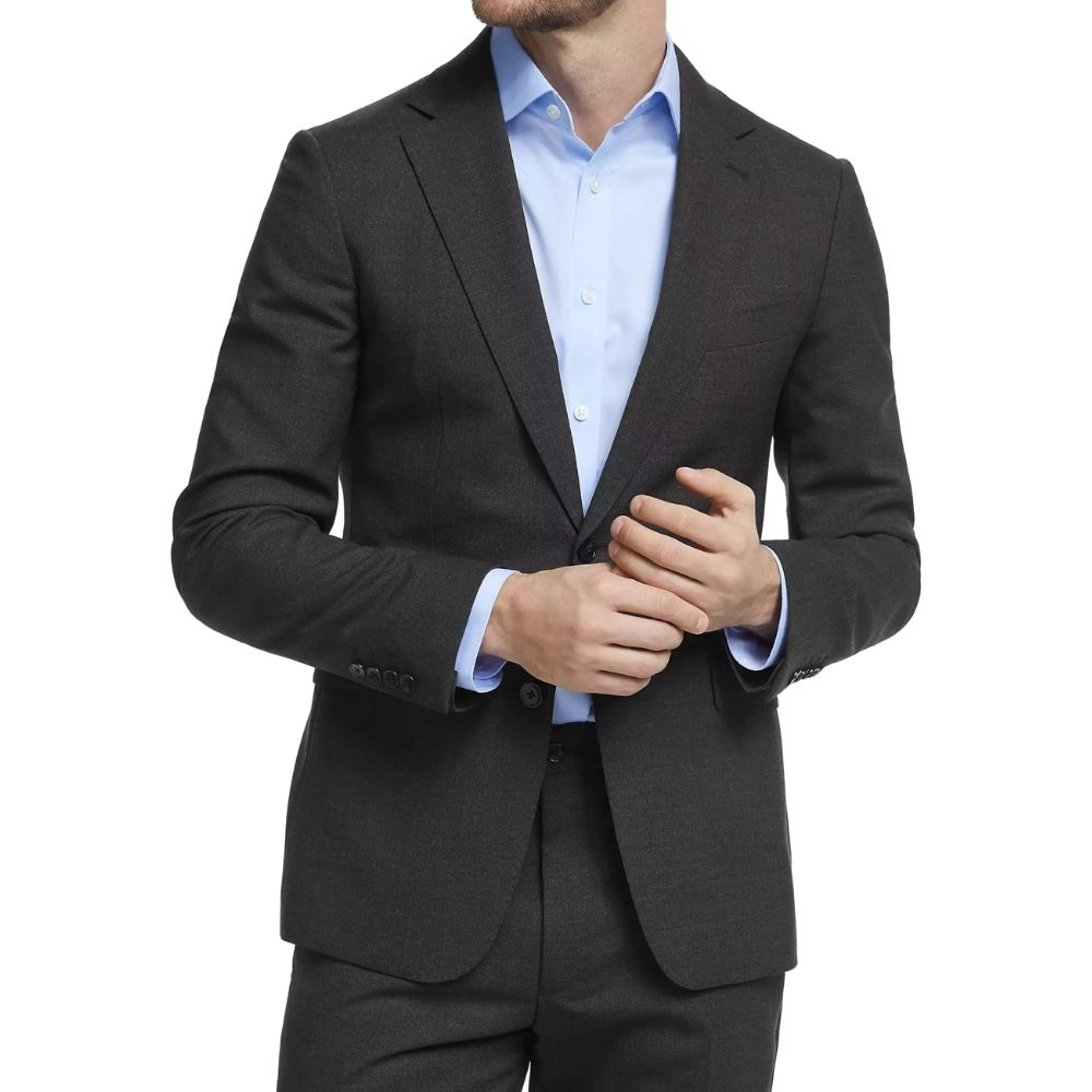 CANALI SUIT CHARCOAL 14