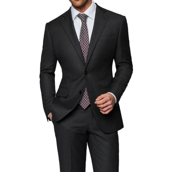 CANALI SUIT CHARCOAL 5