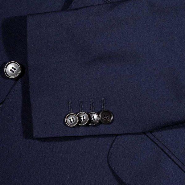 CANALI SUIT DEEP ROYAL BLUE 4