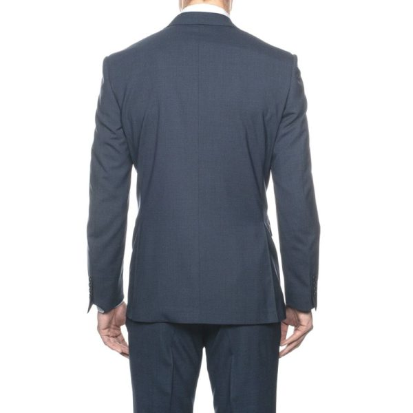 CANALI SUIT MICRO DETAIL MID BLUE 1