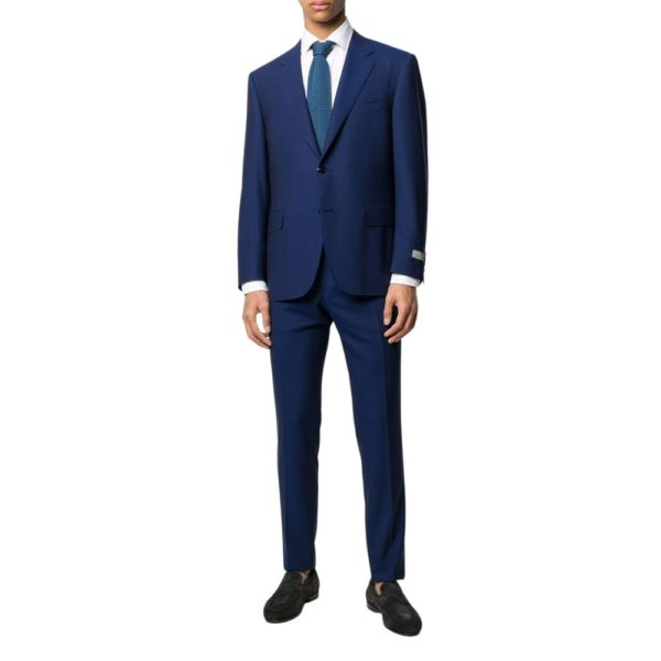 CANALI TRAVEL SUIT IN ROYAL BLUE