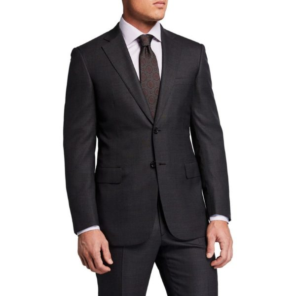 Canali charcoal suit