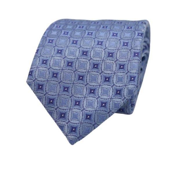 Canali circle tie blue 2