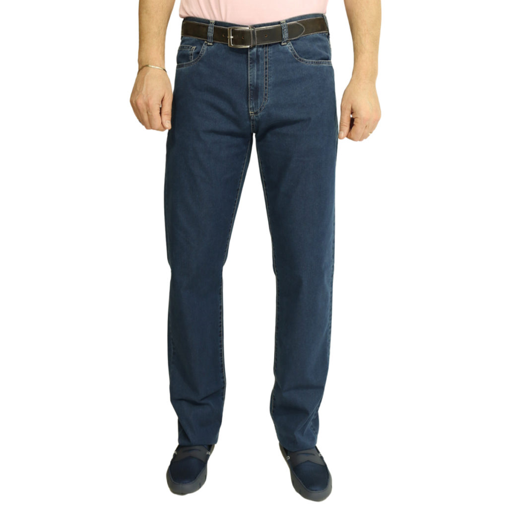 Canali jeans navy
