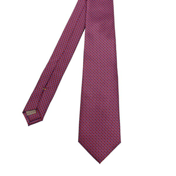 Canali squares tie red blue 2