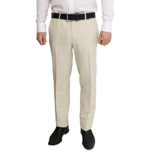 Canali trouser linen cotton chino