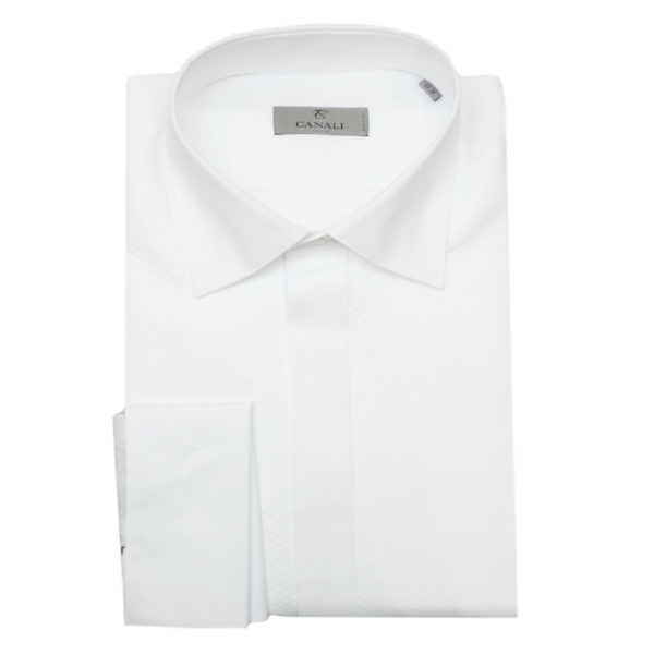Canali white dress shirt