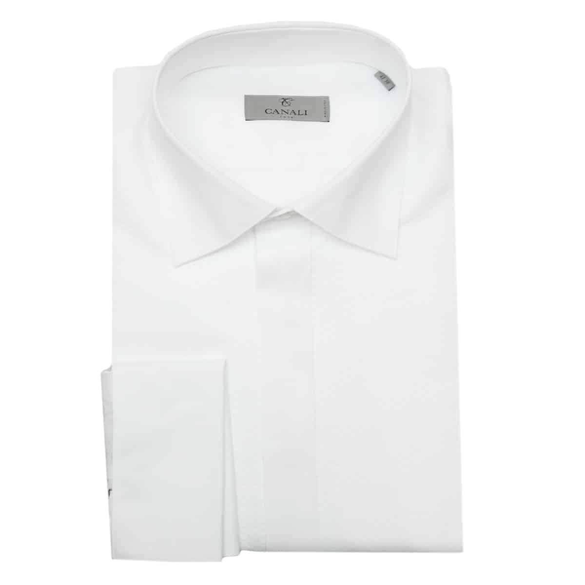 Canali white dress shirt
