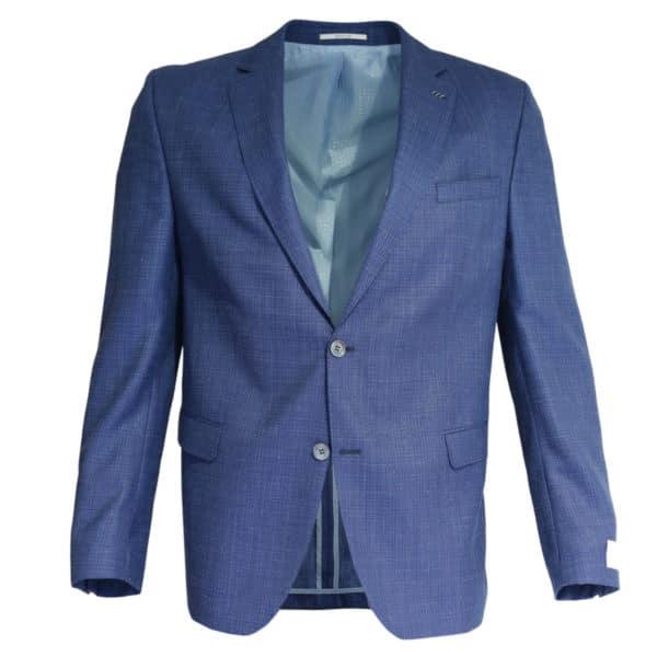 Carl Gross navy jacket front
