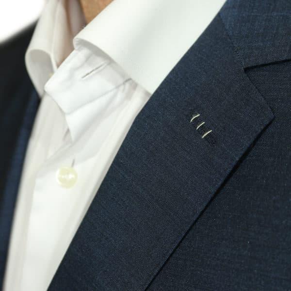 Carl Gross suit collar detail