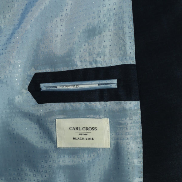 Carl Gross suit lining