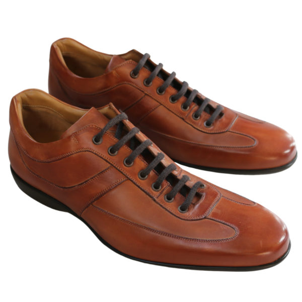 Carlos santos leather trainers