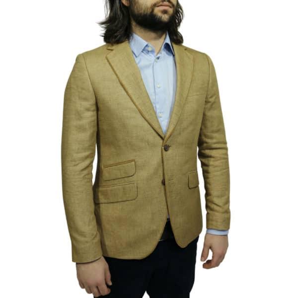 Circle of Gentlemen blazer jacket beige side