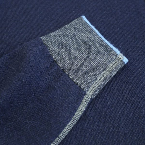Codice Half Zip Sweater Navy 2