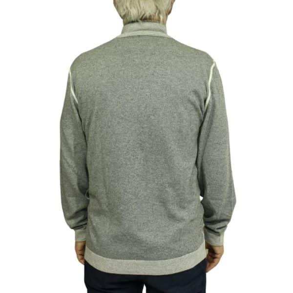 Codice Sweater half zip grey 2