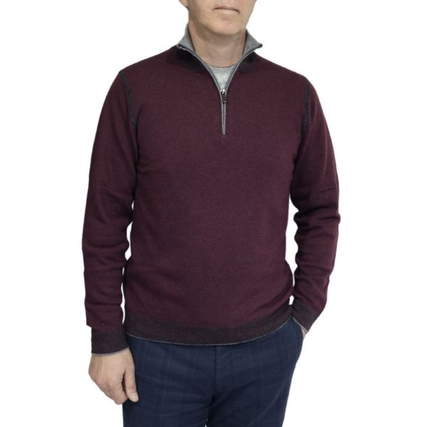 Codice sweater burgundy 2