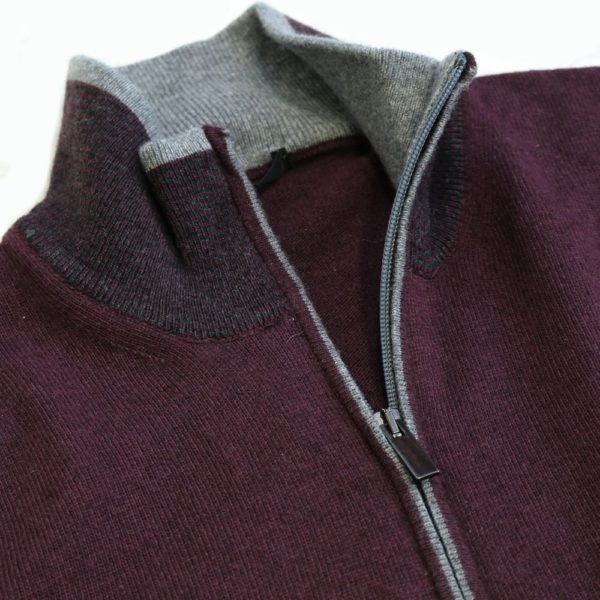 Codice sweater burgundy 3