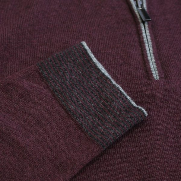 Codice sweater burgundy 4