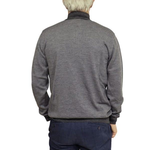 Codice sweater half zip dark grey 1