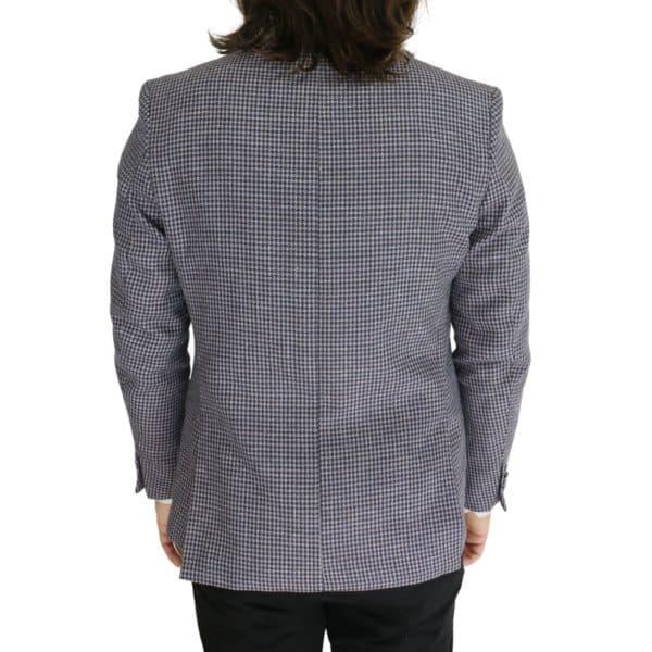 Common Sense blazer jacket houndsooth back