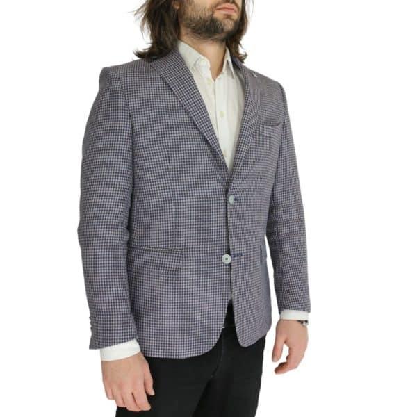 Common Sense blazer jacket houndsooth side