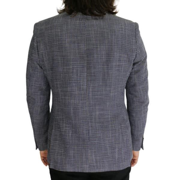 Common Sense blazer jacket small check back