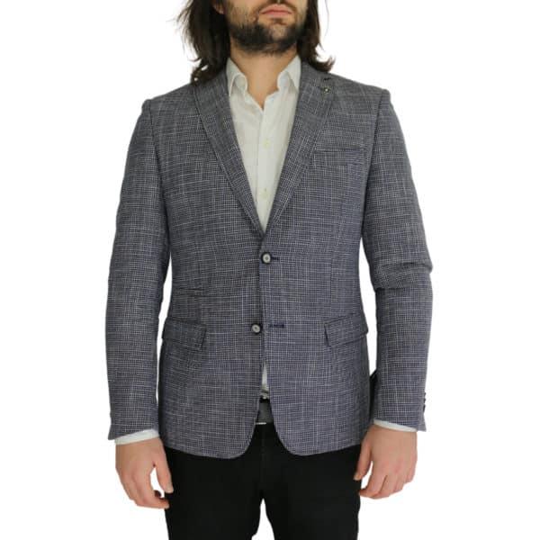 Common Sense blazer jacket small check front