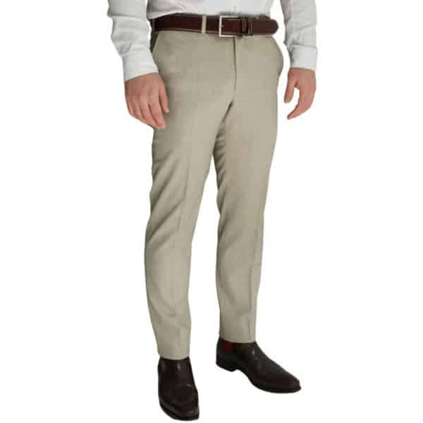 Eduard Dressler beige trouser