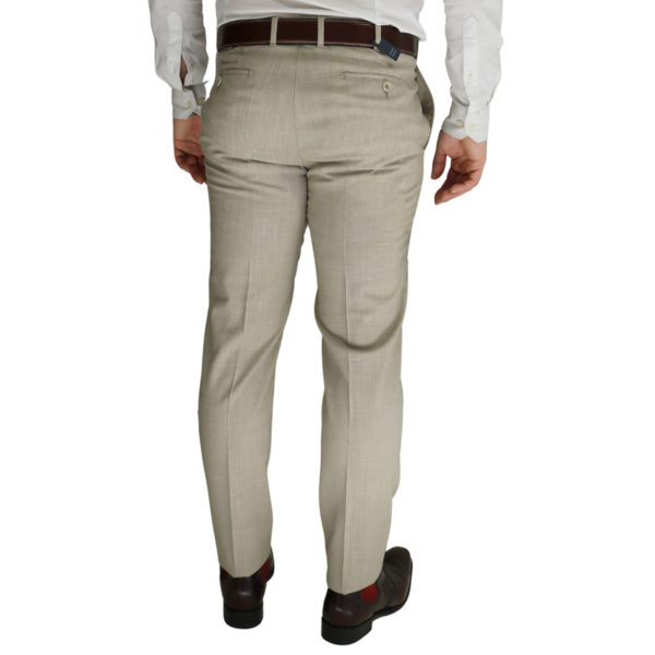 Eduard Dressler beige trouser back