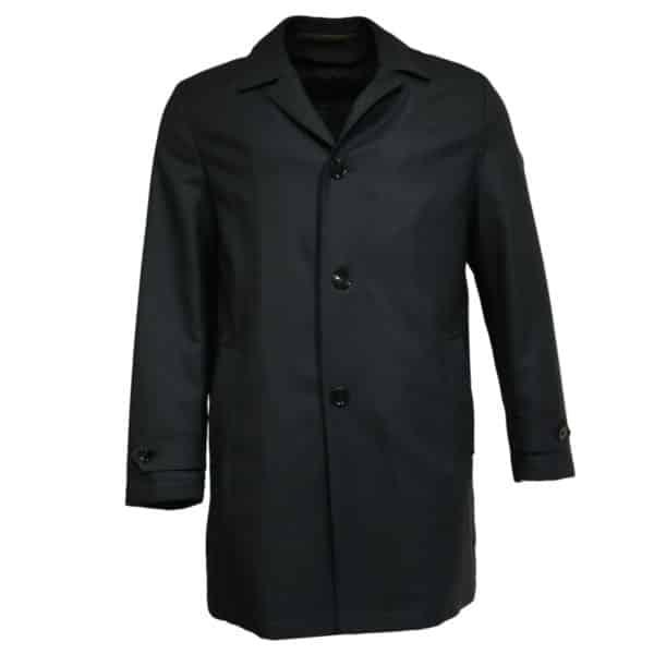 Eduard Dressler black raincoat front