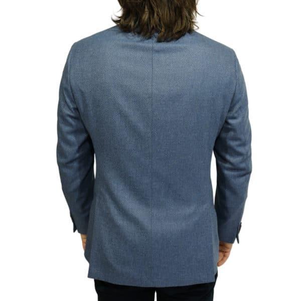 Eduard Dressler blazer jacket blue back