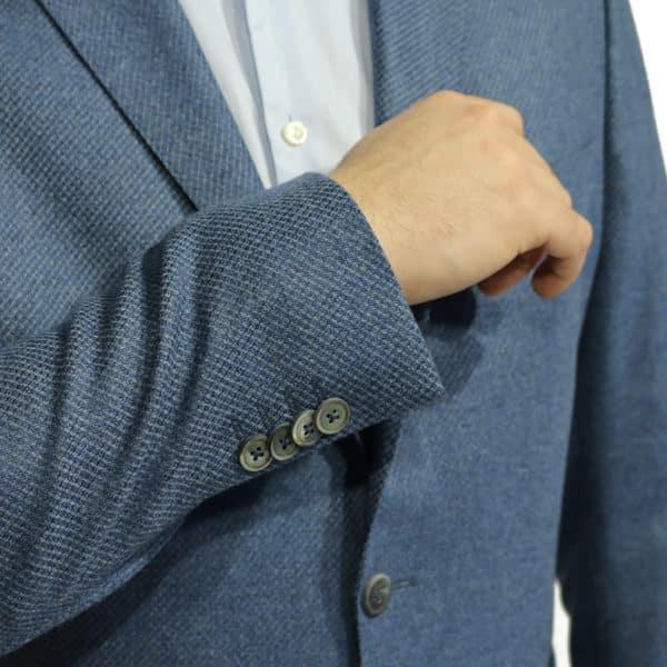 Eduard Dressler blazer jacket blue button detail