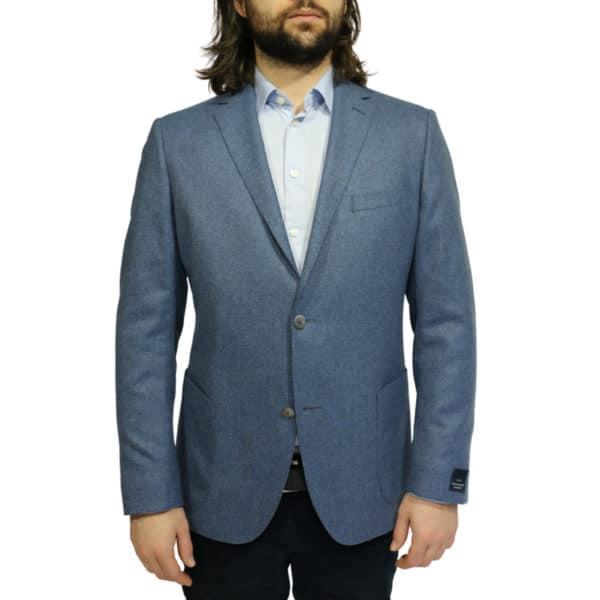 Eduard Dressler blazer jacket blue front