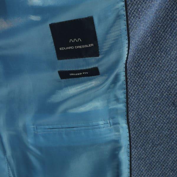 Eduard Dressler blazer jacket blue lining