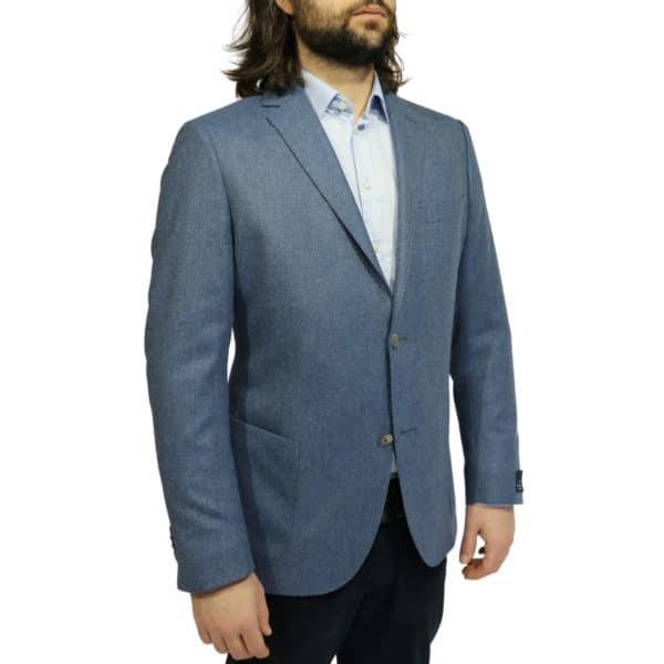 Eduard Dressler blazer jacket blue side 1
